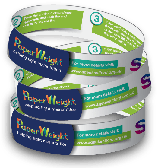 Our design for the PaperWeight Armband