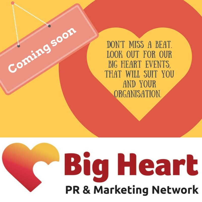 Big heart events coming soon