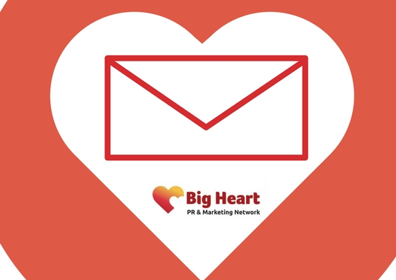 Big Heart email marketing