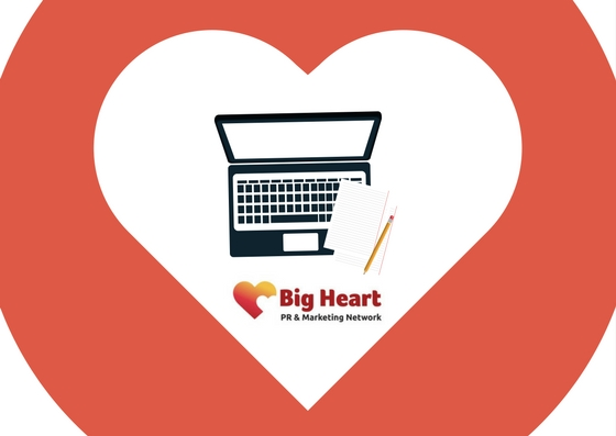 Big heart blogging